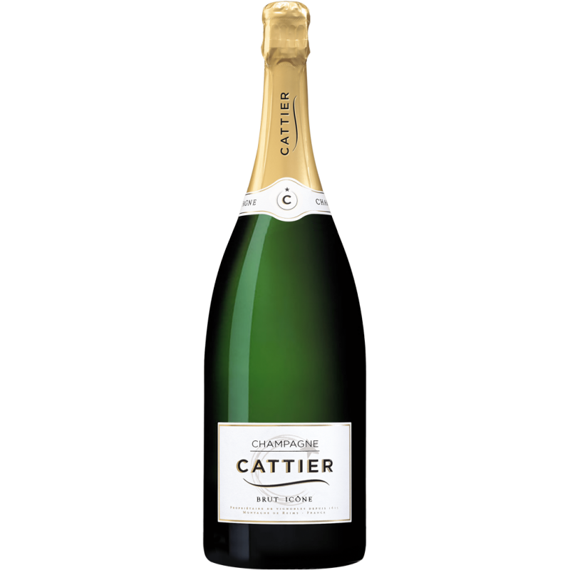 Champagne Cattier Brut Icône Tradition Magnum
